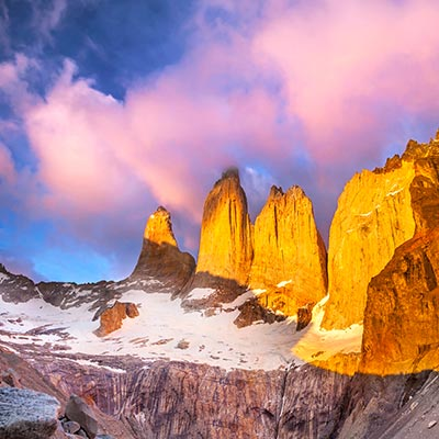 San Pedro de Atacama, Andes & Patagonia